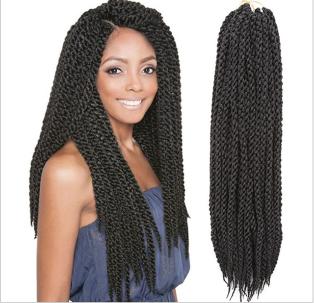 Crochet Braids Hair Care : Braiding Hair 22 3D CubicTwist Crochet Braids Senegalese Braids ...