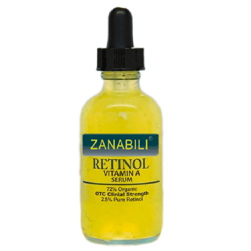 zanabili Pure Retinol Vitamin A 2.5% + Hyaluronic Acid Skin Care Acne Cream Removal Spots Facial Serum Anti Wrinkle Face Cream zanabili pure retinol vitamin a 2 5% 30% vitamin c e 100% hyaluronic acid facial serum anti aging moisturizing face cream