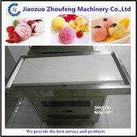 Таиланд холодной камень стол плиты рулонов машина для жареного мороженого