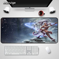 Mairuige Big Size400X900X2mm Gaming Mouse Pad League of Legends Mouse PadMouse Mats Notebook Mousepad for Computer Locking Edge