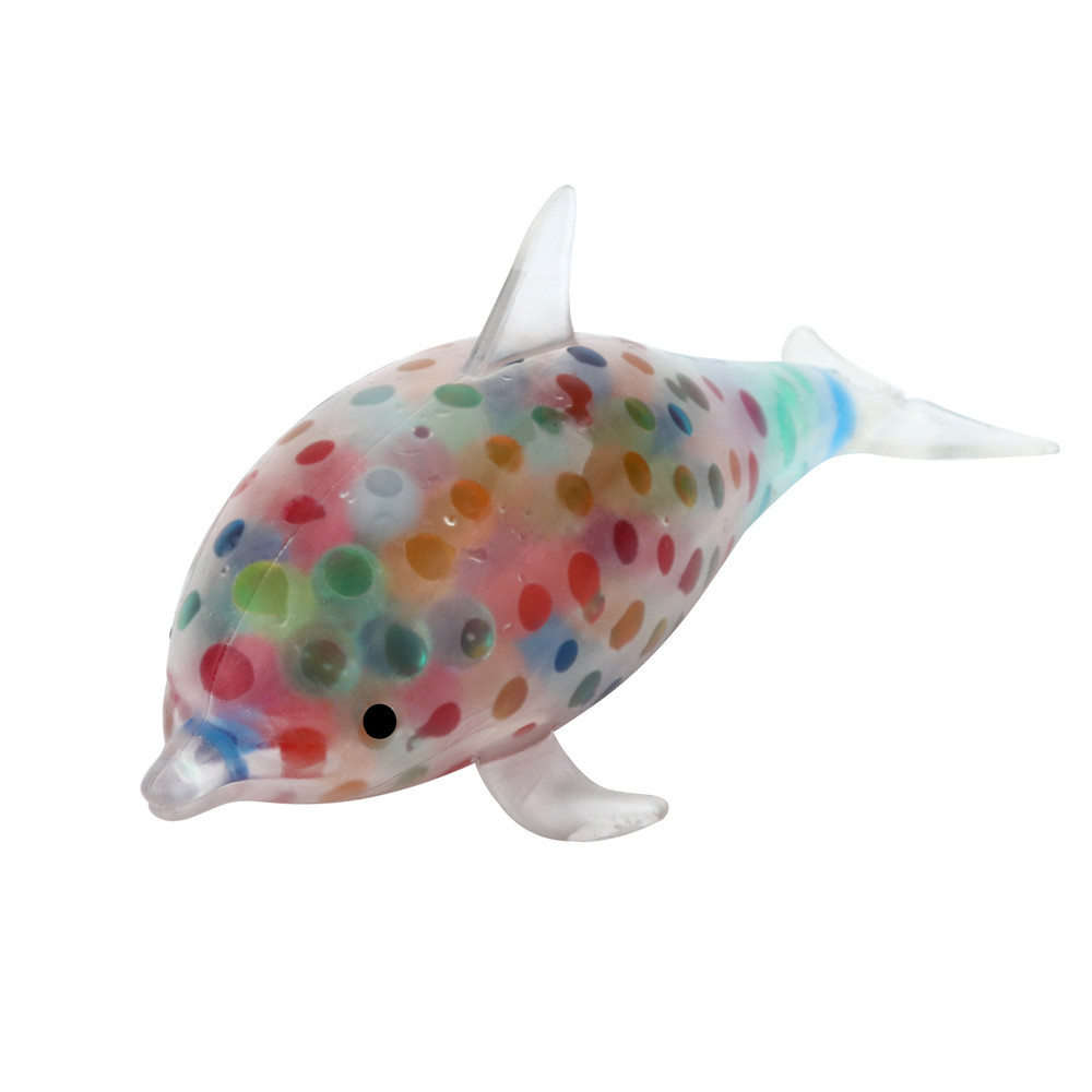 HIINST Spongy Dolphin Bead Stress Ball Toy Squeezable Stress Toy Stress Relief Ball may22 P30 drop shipping