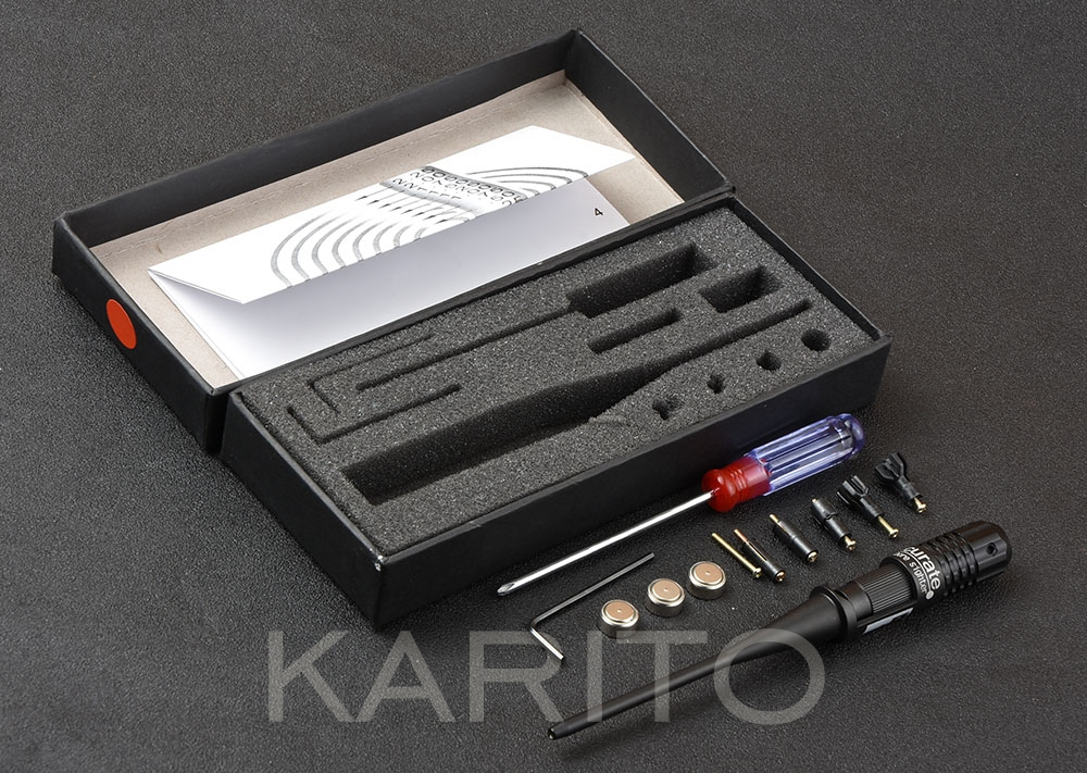 Shooin Red Laser Boresighter Cal: .177 4.5mm ~ .50 12.7mm inch caliber Bore sighter hunting shooting M7279