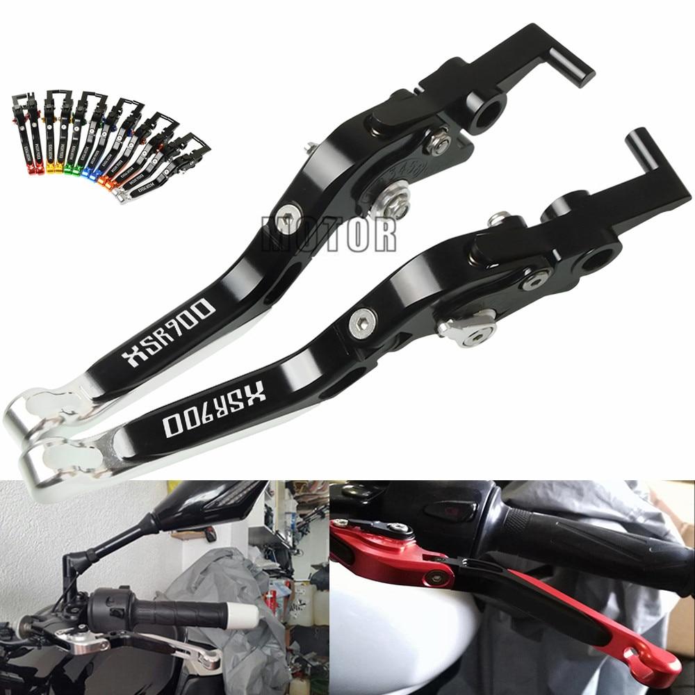 Pour YAMAHA XSR 900 ABS 2016-2018 levier d'embrayage de frein accessoires de moto pliable extensible réglable CNC moteur en aluminium