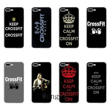 quotes keep calm and crossfit on silicone TPU Soft phone case For Xiaomi Mi 6 6X A1 5 5s 5x mix max 2 Redmi Note 4 5 5A pro plus(China)