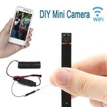 HBUDS P2P Mini Câmera HD 1080 P Câmera de Rede WI-FI Sem Fio DIY Módulo Da Câmera Movimento Ativado DV Filmadora com 4000mA