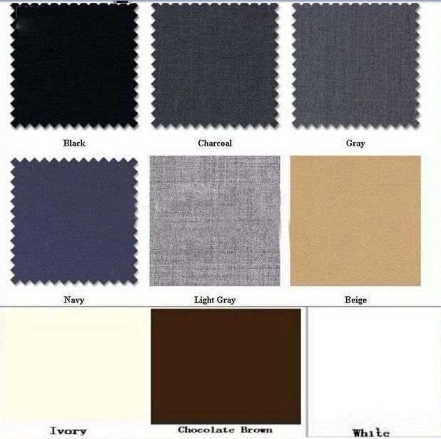 Men Suit Color