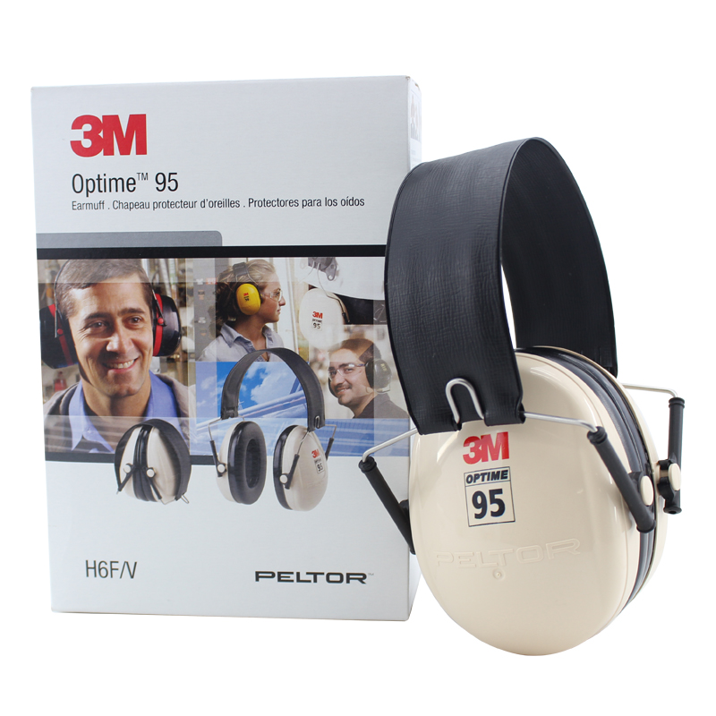3M H6F Earmuffs Folding Earmuffs Hearing Conservation Anti-noise Hearing Protector for Drivers/Workers KU014 3m h6p3e cap mount earmuffs hearing conservation h6p3e ultra light with liquid foam filled earmuff cushions e111