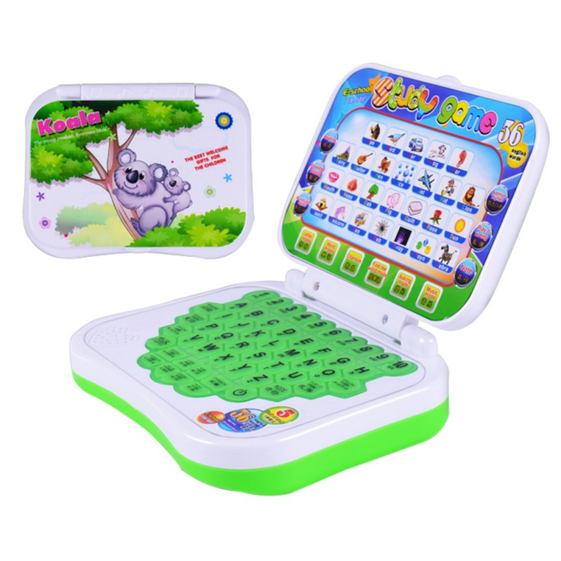 Toy Computer Laptop Tablet Baby Children Educational Learning Machine Toys Electronic Kids Study Game Random Colors 2019 image