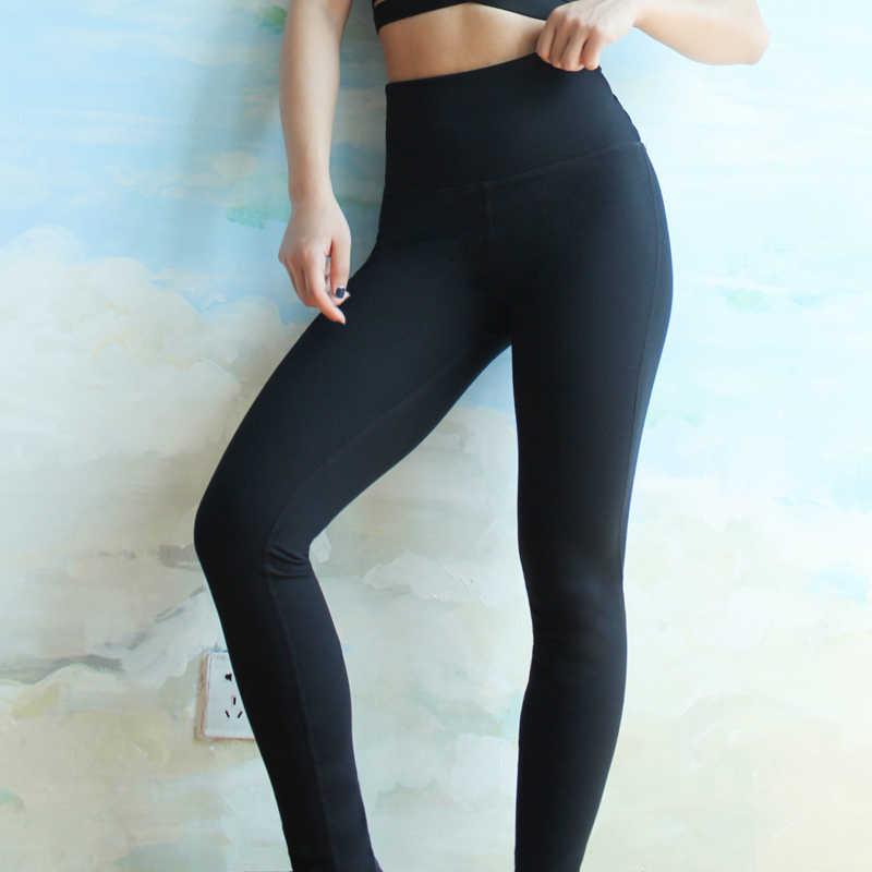 311d30f2255ad ... BINAND Women Back Cross Workout Solid Color Yoga Pants High Waist  Elastic Slim Fit Jogging Sportswear ...