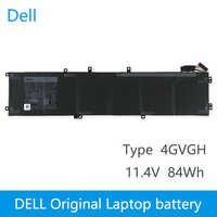 Dell Nuovo Originale Batteria Del Computer Portatile di Ricambio Per DELL Precision 5510 XPS 15 9550 serie 1P6KD T453X 11.4V 84WH 4GVGH