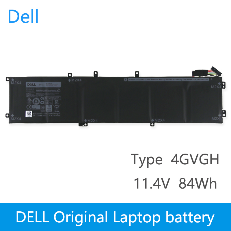 Dell Original New Replacement Laptop Battery For DELL Precision 5510 XPS 15 9550 series 1P6KD T453X 11.4V 84WH 4GVGH image