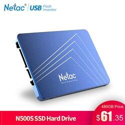 Netac SSD 240 GB 120GB 480GB 2.5'' SSD Hard Drive 60GB 120 480 GB 240GB Sata Internal Solid State Drive Disk For Laptop Computer
