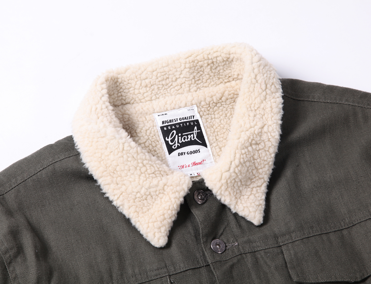 BEAUTIFUL GIANT 2017 Autumn Winter Men Lamb Fur Jacket Pockets Vintage Coat Single-breasted Male Working Jacket
