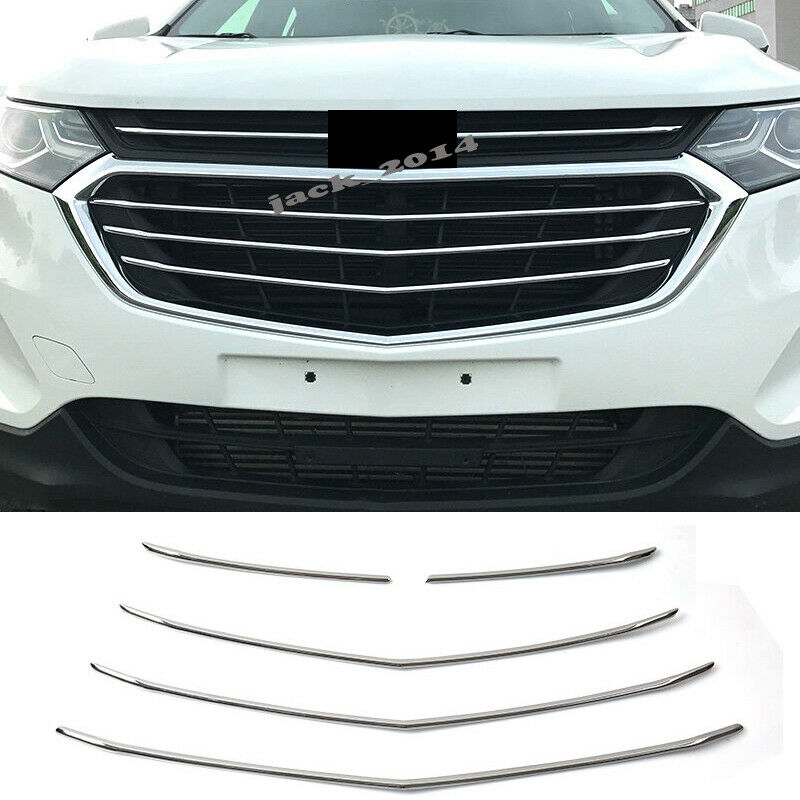 Fits Chevy Equinox 2018 Stainless Polished Chrome Lower Door Accent Trim 8PCS