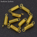 Модные бусины lychee в форме дредов золотого цвета, заколка-кафф для волос, спиральное кольцо в форме трубки, сделай сам, инструмент для наращив...