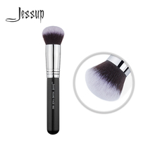 Jessup Powder brush Makeup Face beauty tool Synthetic hair Foundation Blending Cosmetic Round 082