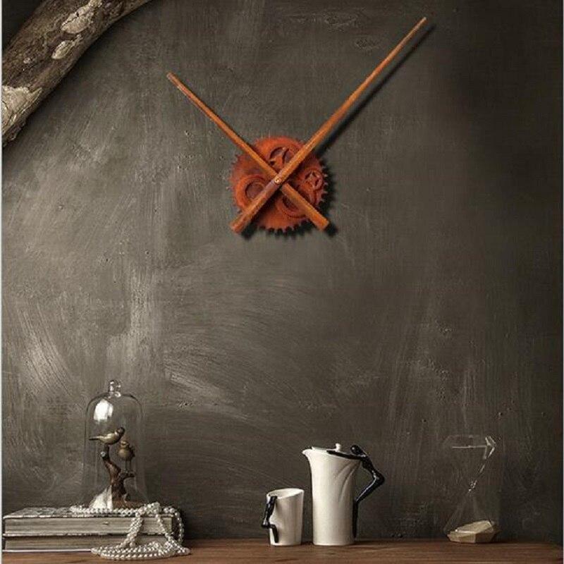 Hodinový mechanismus Rust Clock Gear Nástěnné hodiny Příslušenství Dlouhý ukazatel Core Shell Table Saat Horloge murale Reloj Duvar saati Klok