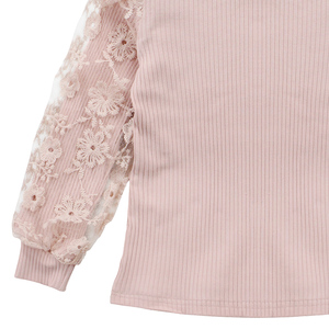 Image 4 - ملابس للبنات الدانتيل كم البلوز + منقوشة فستان 2 قطعة ملابس الفتيات المراهقات ملابس كاجوال للأطفال 6 8 10 12 13 سنة
