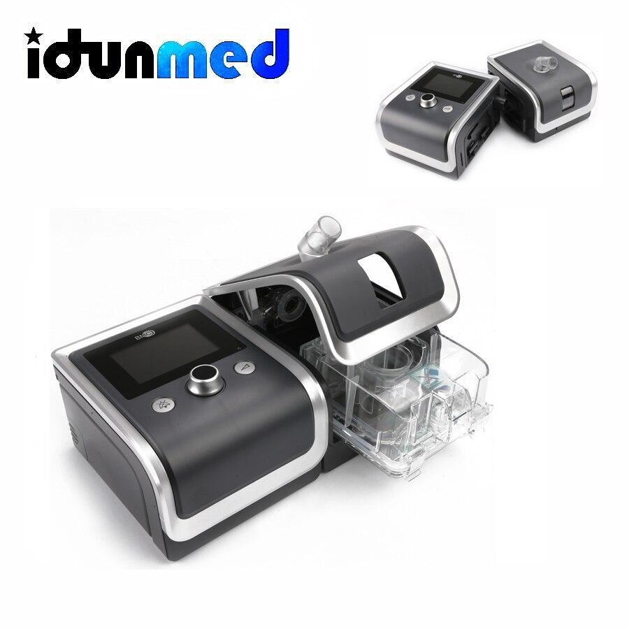 Appareil respiratoire Bipap BMC Bpap Machine avec oxymètre de pression artérielle SpO2 santé Therpay masque humidificateur pour l'apnée du sommeil ronflement