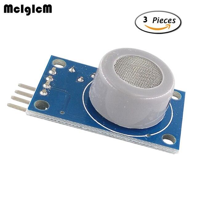 MCIGICM 3pcs MQ-9 combustible gas sensor detects carbon monoxide alarm module MQ-9 module