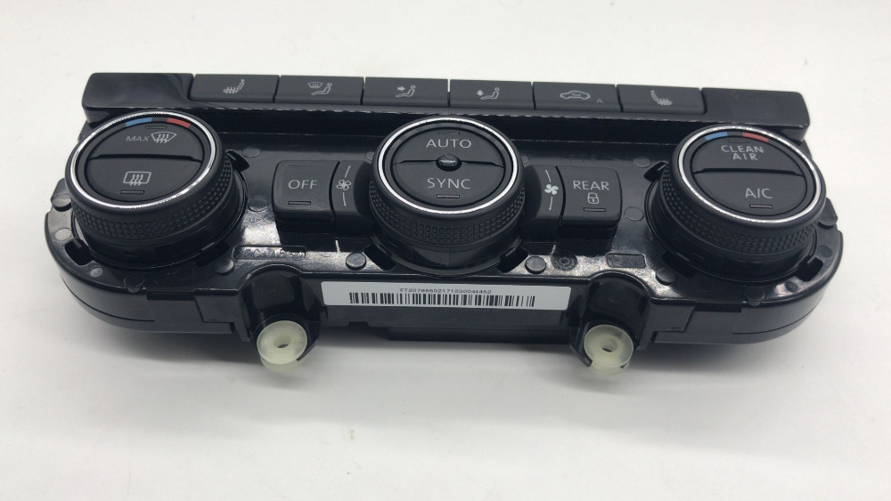 Auto Replacement Parts Motivated Cheshunzai Climatronic Air Condition Control Switch Panel Ac Seat Heater Air Conditionin For Vw Passat B7 Cc 561 907 044