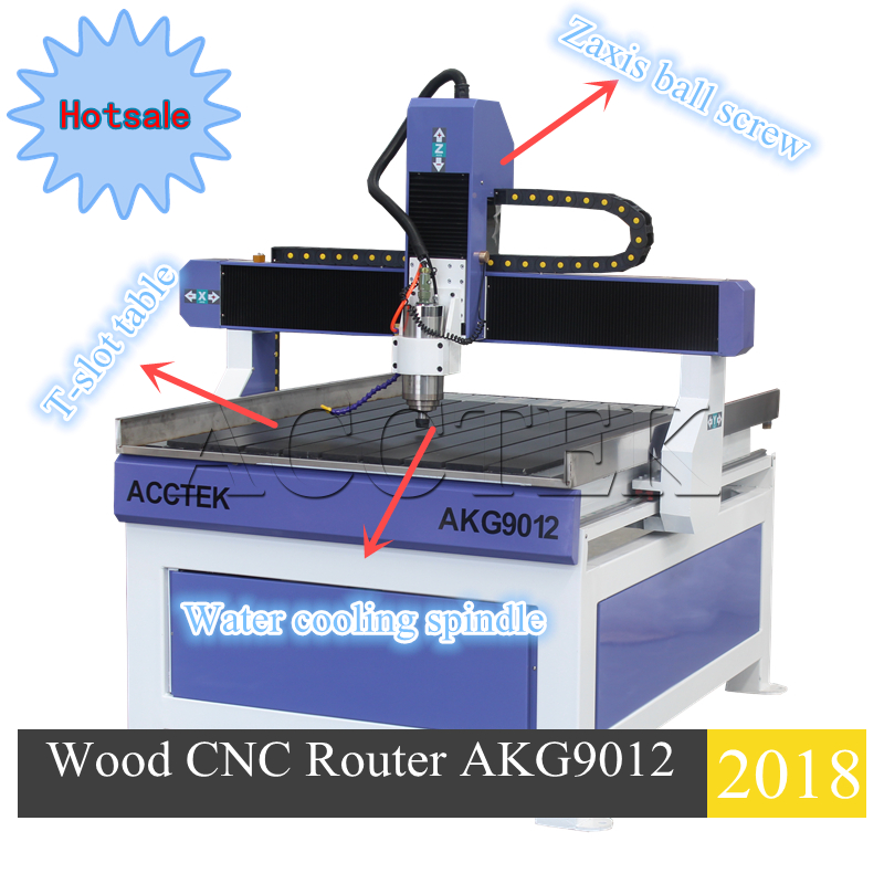 Hot Sale 6090 6012 9012 Cnc Router 3d Mini Milling Machine 4 Axis 3aixs Wood Cnc Router For Cutting Wood
