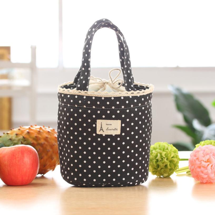 Lowest Price Portable lunch bag Fruit Storage Bag Women Handbag Cooler Bag Tote Pouch Lunch Container lunch Box For Kids Adult