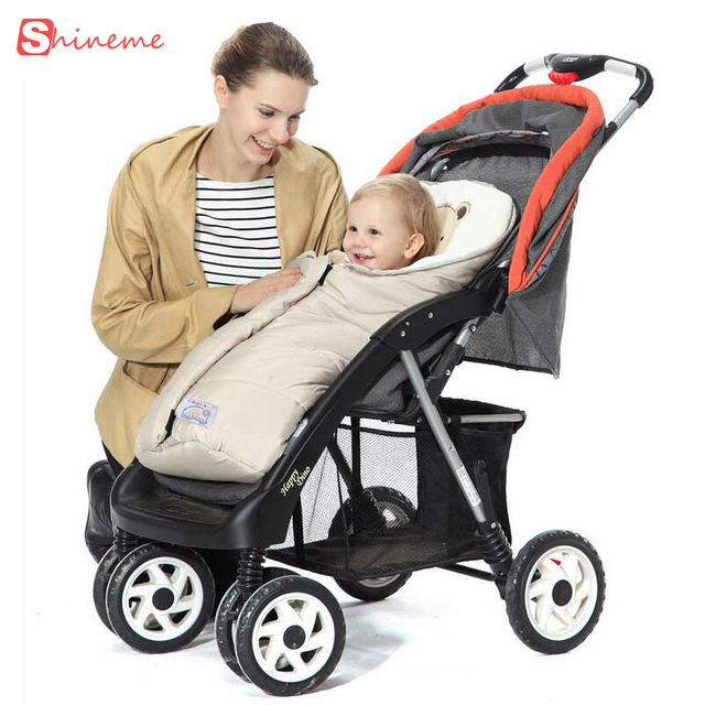 warm 2 colors high quality comfortable soft multifunctional sleeping Baby bag stroller blankets autumn winter children products