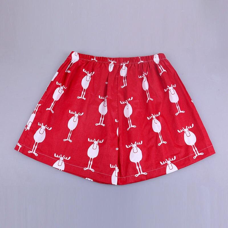 UNIKIWI. Милые летние хлопковые Пижамные шорты для сна, женские свободные пижамные штаны с эластичной резинкой на талии размера плюс M-XL отдыха. 21 цвет - Цвет: 019