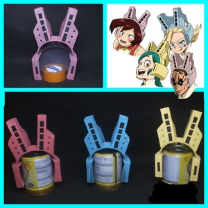 Image 1 - My Hero Academia Mandalay Bob Pussycats Ragdoll Tiger Cosplay, accessoire pour casque Boku No Hero academic, accessoire pour Cosplay