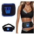 50 unidades/pacote Corpo ABGymnic Muscle AB Gymnic Eletrônico Cintura Muscular Do Braço perna Massagem Abdominal Exercício Toning Belt Slim Fit Venda Quente