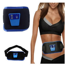 50pcs Pack ABGymnic AB Gymnic Electronic Body Muscle Arm leg Waist Abdominal Massage Exercise Toning Belt