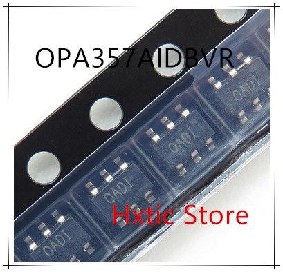 NEW 10PCS LOT OPA357AIDBVR OPA357AIDBVT OPA357 MARKING OADI 0ADI SOT23 5 IC