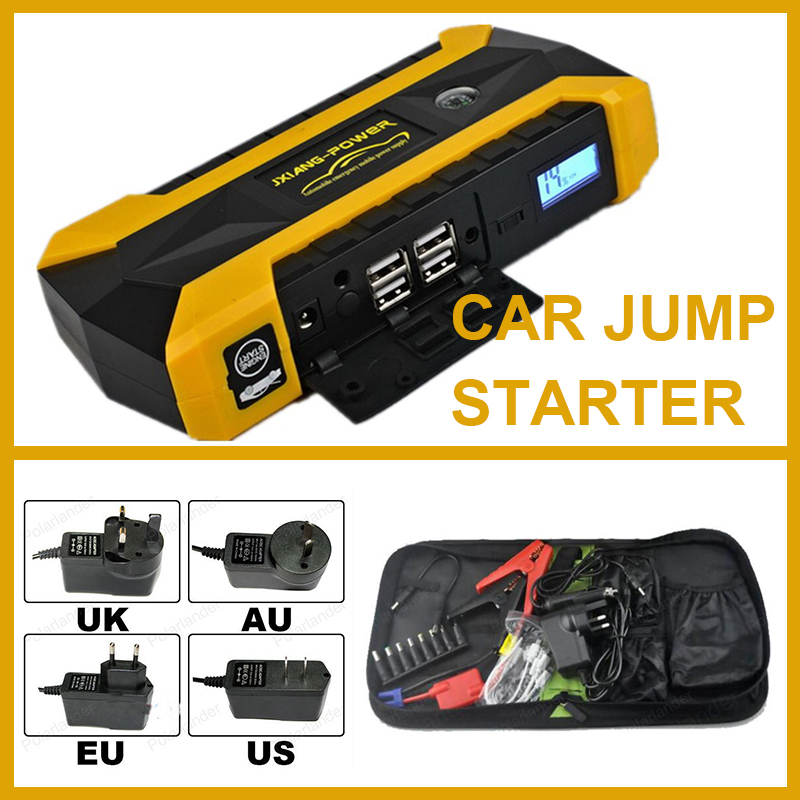 Portable 12V Petrol Diesel Car Jump Starter Power Bank Mini Multi Function Car Starting Device