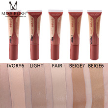 MISS ROSE Liquid BB Cream 10 Color Base Face Full Cover Concealer Makeup Waterproof Foundation Beauty Make Up for All Skin