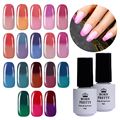 1 Bottle 5Ml BORN PRETTY Thermal Colour Change Gel Temperature Color Changing Thermal Soak Off Nail UV Gel Polish 1-18