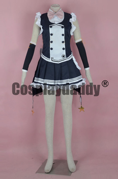 Touhou Megane Human Magician High-level Magic Marisa Kirisame Dress Cosplay Costume F006