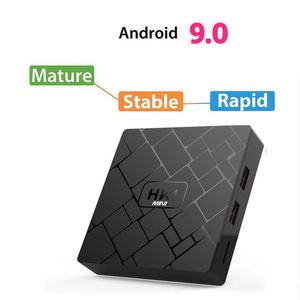 Image 2 - New, Hk1 Mini Smart Tv Box Android 9.0 2Gb+16Gb Rk3229 Quad Core Wifi 2.4G 4K 3D Hk1 Mini Google Netflix Set Top Box(Uk Plug)