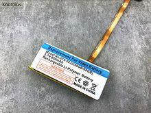 Bateria de substituição de polímero de lítio, bateria knotolus 850mah para ipod 6th gen classic 160gb e 5th gen 60gb 80gb de espessura