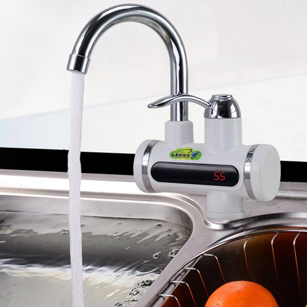 3000 W Instantané Chauffe-Eau Électrique Instantané Robinet D'eau Chaude Cuisine Électrique Robinet de Chauffage de L'eau Instantanée Chauffe-Eau #10