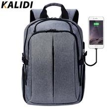 KALIDI Mackbook Pro 13.3 15.6 Için Laptop Çantası 17.3 inç Iş Bilgisayar Çantası İşlevli Moda Notebook Çantaları Erkekler için