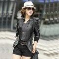 Big size clothing outerwear Large women's outerwear plus size PU clothing outerwear female plus size clothing