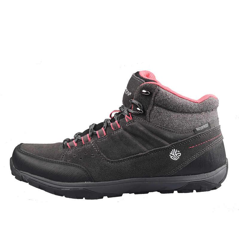 Grition mulheres sapatos de desporto à prova dwaterproof água sapatos casuais trekking caminhadas ao ar livre tênis corrida confortáveis botas femininas 2020