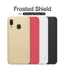 For Samsung Galaxy A30 Case NILLKIN Super Frosted Shield Hard Plastic Phone Fitted Cases Back Covers