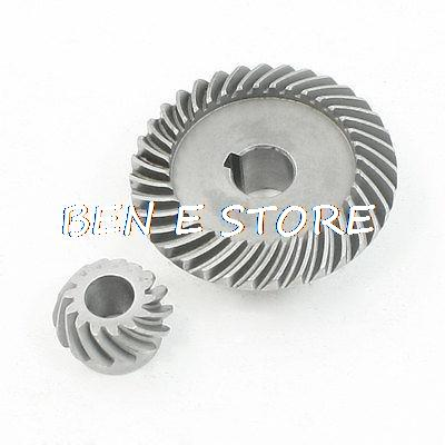 Repairing Part Spiral Bevel Gear Pinion Set for LG 100 Angle Grinder angle grinder spare part spiral bevel gear set for hitachi 180 angle grinder page 3
