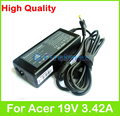 65 Вт 19 В 3.42A AC адаптер питания для Acer Aspire 3830 3935 S3 S3-371 TimelineX 3830 Т TravelMate 8372 P663-M зарядное устройство