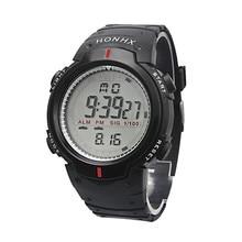 Творческий Водонепроницаемый открытый альпинизм спортивные Для мужчин цифровой светодиодный кварцевые наручные часы спортивные цифровые часы Для мужчин Водонепроницаемый часы