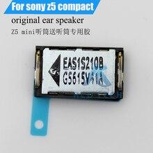 Original New Ear Speaker Earpiece Earspeaker with Sticker Waterproof Adhesive For Sony Xperia Z5 Compact Z5mini E5803 E5823 J5