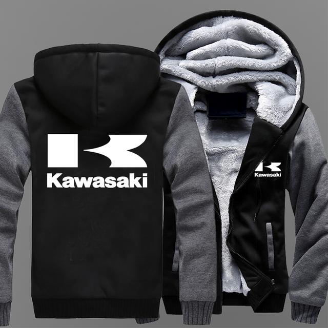 Kawasaki Moto Logo  Casual  Jacket
