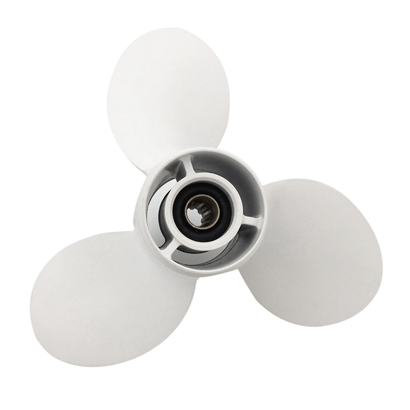 9 1/4X11 For Yamaha 8 Tooth Spine Aluminium Propeller Propellers 15Hp Propellers 9.9 Hp Propellers